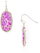 Kendra Scott Dani Kyocera Opal Drop Earrings