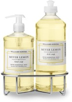 Williams-Sonoma Williams Sonoma Meyer Lemon Hand Soap & Dish Soap, Classic 3-Piece Set