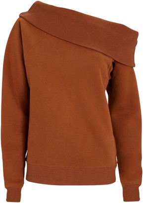 Marissa Webb One-Shoulder Sweatshirt