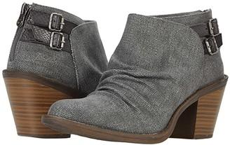 Blowfish Leben (Duffle Grey Rancher/Charcoal Amazon Rawhide) Women's Shoes