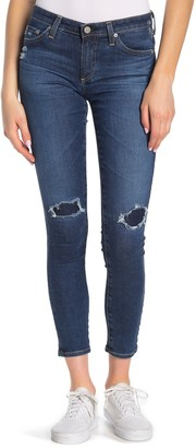 AG Jeans The Legging Ankle Super Skinny Jeans (9 Year Universal Mended)