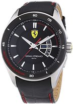 Ferrari Scuderia 0830183 Mens Gran Premio Black Watch