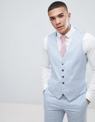 Burton Menswear Wedding Skinny Tuxedo Waistcoat