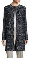 St. John Long Wool-Blend Jacket