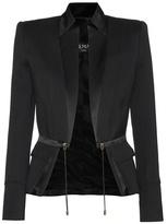 Balmain Silk satin and cotton jacket