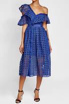 Self-Portrait Lace Frill Dress