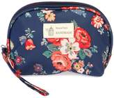 Riah Fashion Navy Petite Cosmetic Bag