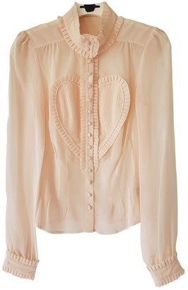 Viktor & Rolf By H&m Pink Silk Top for Women