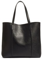 Phase 3 Faux Leather Tote - Black