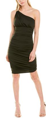 Susana Monaco One-Shoulder Midi Dress