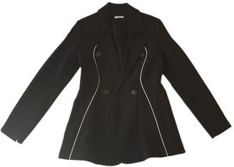 Tome Black Wool Jackets