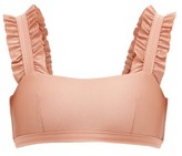 Ephemera - Ruffle Bikini Top - Womens - Pink