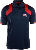 Antigua Men's Short-Sleeve Columbus Blue Jackets Fusion Polo