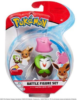 Pokemon 3 Battle Figure Pack