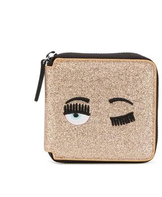 Chiara Ferragni Flirting Eye Glitter Wallet