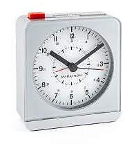 Marathon Silent Non-Ticking Alarm Clock