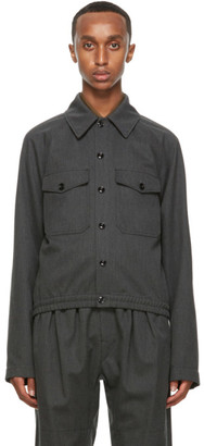 Lemaire Grey Military Jacket