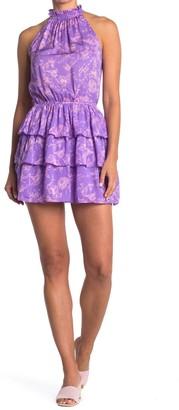 Do & Be Sleeveless Mock Neck Dress