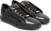 Brioni - James Suede And Leather Sneakers