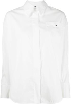 Lorena Antoniazzi wide placket shirt