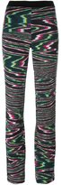 Missoni elastic waistband flared trousers