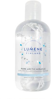 Lumene Nordic Hydra [Lahde] Pure Arctic Miracle 3-In-1 Micellar Cleansing Water 250Ml