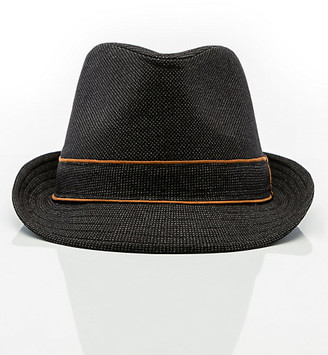 Le Château Two Tone Woven Fedora Hat