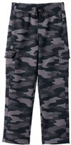 Boys 4-7x Jumping Beans® Camouflage Fleece-Lined Cargo Pants
