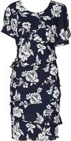 Gina Bacconi Esme Floral Tiered Dress