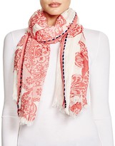 Fraas Paisley Border Stitch Scarf