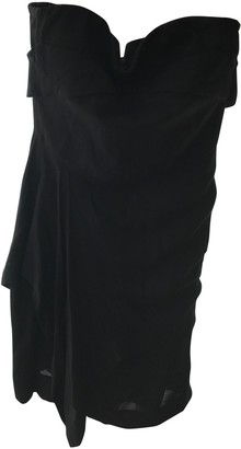 Surface to Air Black Synthetic Dresses