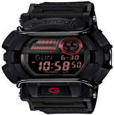 G-Shock G SHOCK Casio G- Shock Mens Black and Red Strap Watch GD400-1