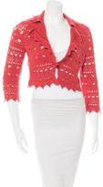 Carolina Herrera Cashmere Knit Sweater