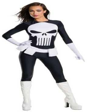 BuySeasons Buy Seasons Women's Punisher Secret Wishes Costume
