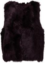 Karl Donoghue Foxy shearling vest