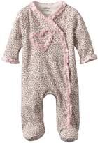 Little Me Baby Girls Newborn Leopard Footie