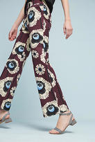Orla Kiely Printed Silk Trousers