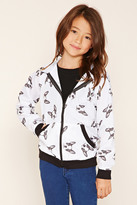 Forever 21 FOREVER 21+ Girls Bulldog Jacket (Kids)