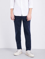 7 For All Mankind Slimmy slim-fit tapered stretch-cotton chinos