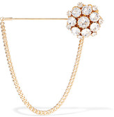 Dolce & Gabbana Gold-tone Crystal Brooch - one size