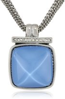 """Kenneth Cole New York Faceted Bead Pendant Necklace, 21"""""""
