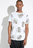 Forever 21 FOREVER 21+ BOY London BOY Knuckles Longline Tee