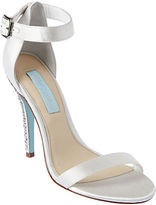 Betsey Johnson Bells Satin High-Heel Sandals