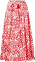 Lisa Marie Fernandez printed beach skirt
