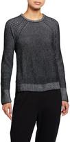 Eileen Fisher Crewneck Organic Cotton Chenille Sweater