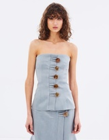 CHRISTOPHER ESBER Fossiled Resin Bustier