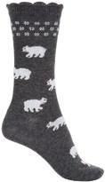 B.ella Hailey Polar Bear Socks - Crew (For Women)