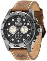 Timberland Men's Northfield Brown Leather Strap Watch 45x65mm TBL13909JSBU02