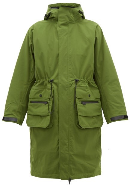 TEMPLA 2l Moss Hooded Parka - Womens - Green