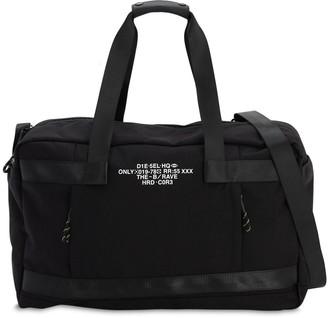 Diesel Tech Canvas Duffle Bag